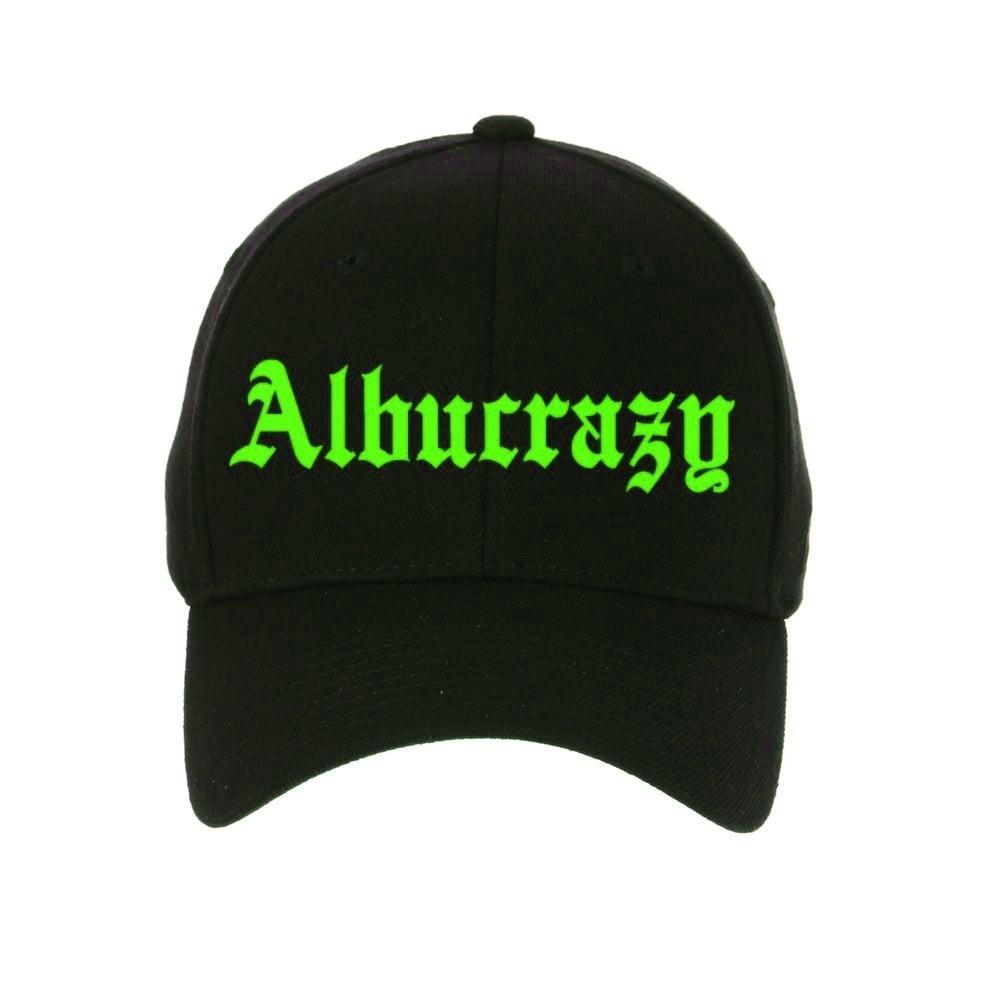 Image of *RARE* ALBUCRAZY [SNAPBACK] GREEN