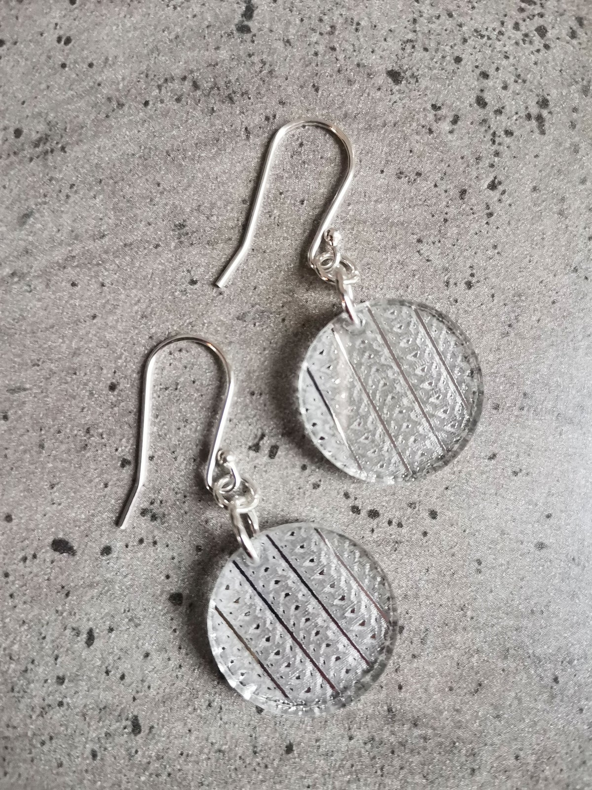 Image of Interweave Drops in Silver