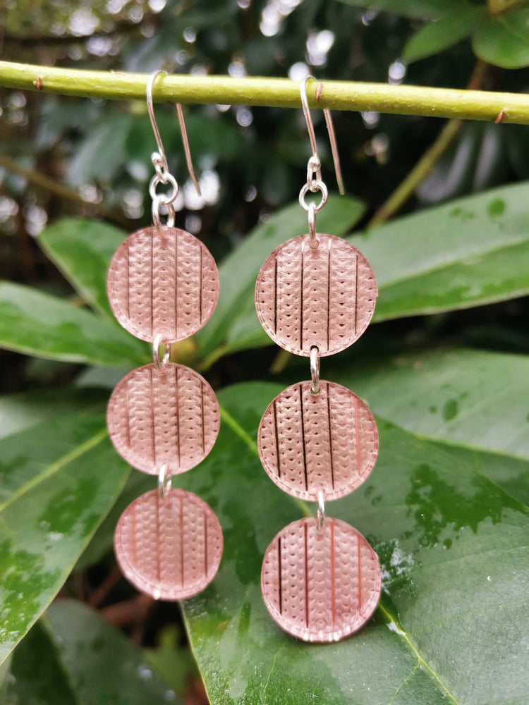 Image of Interweave Droplets in Rose Gold