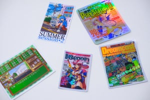 "Image of ""Dreamcast Jet Set"" sticker"