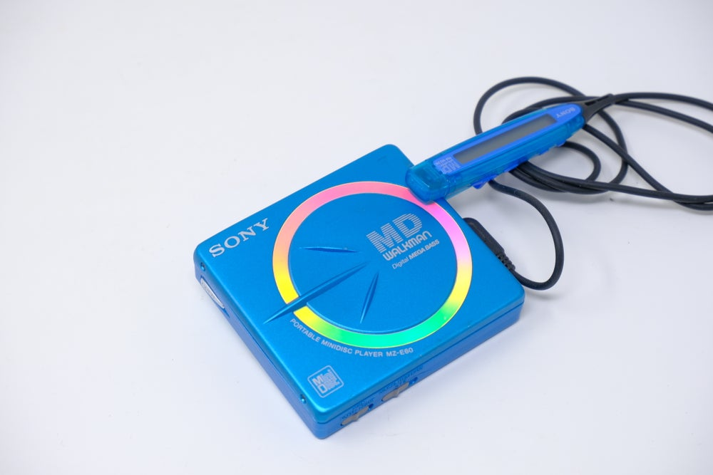 Image of MZ-E60 MD player