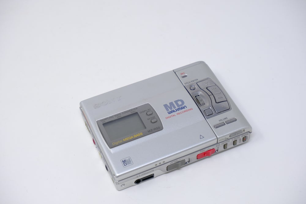 Image of MZ-R50 MD recorder