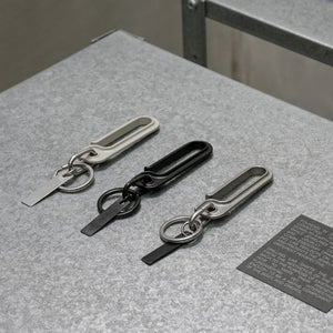 Image of DRILLING LAB - Framework Key Chain (Coating Grey)