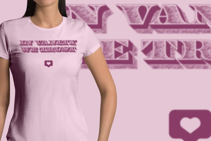 Image of In Vanity We Trust t-shirt