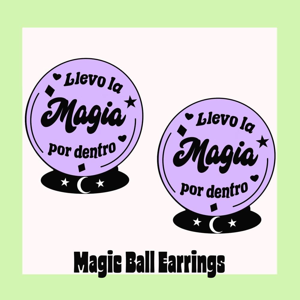 Image of Magic Ball mini earrings