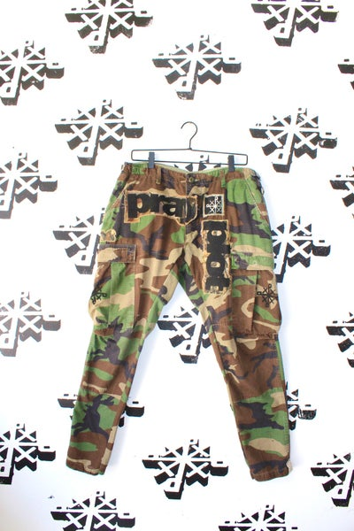 Image of came ready camo cargo pants
