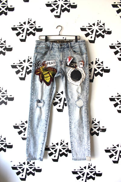 Image of really on our own thing jeans