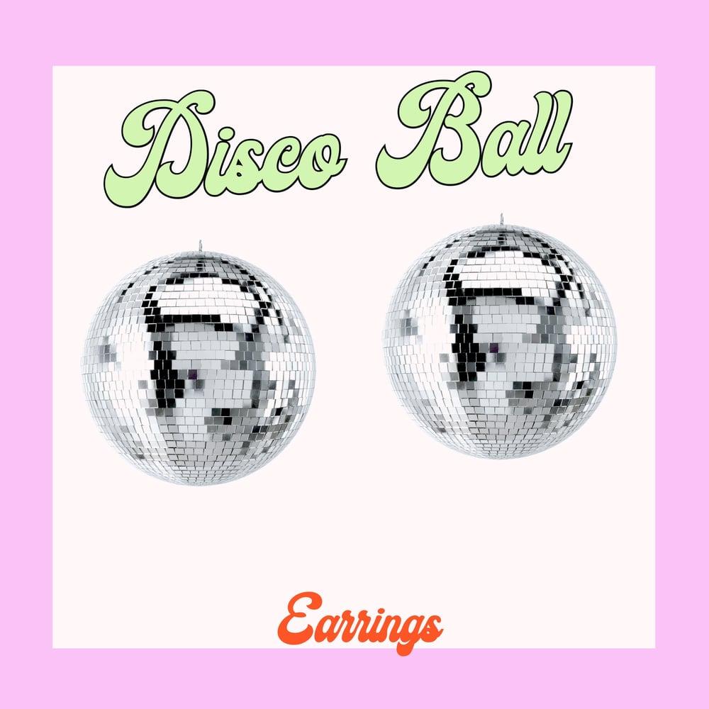 Image of Disco Ball mini earrings