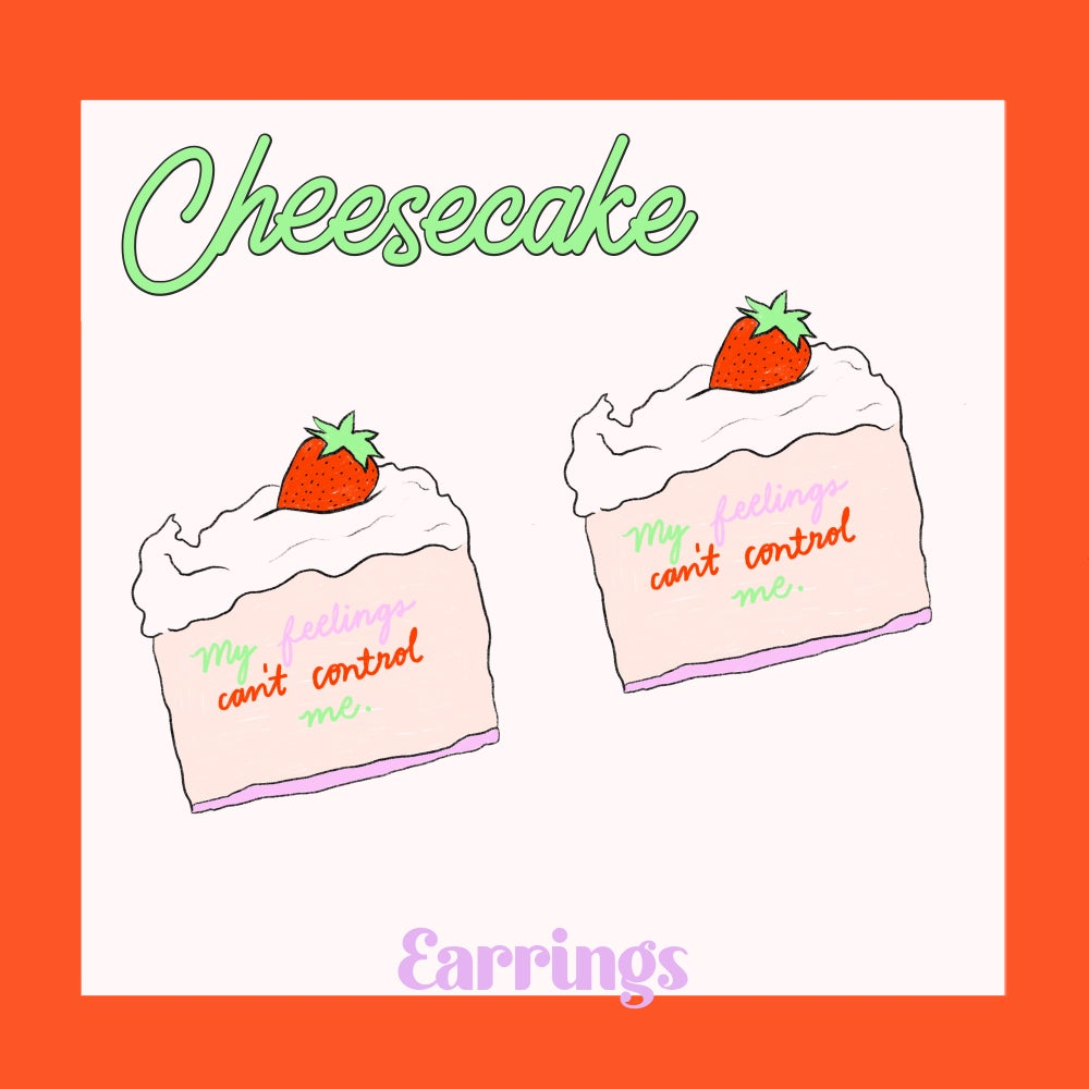 Image of Cheesecake earrings