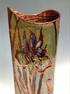 """Purple Iris"" vase"