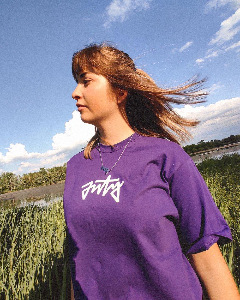 T-shirt Alternate violet
