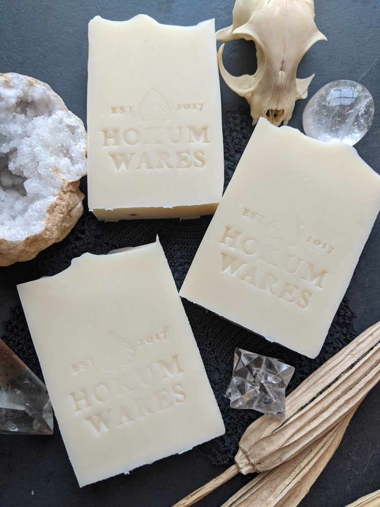 Image of Coconut Milk Unscented Cold Process Soap