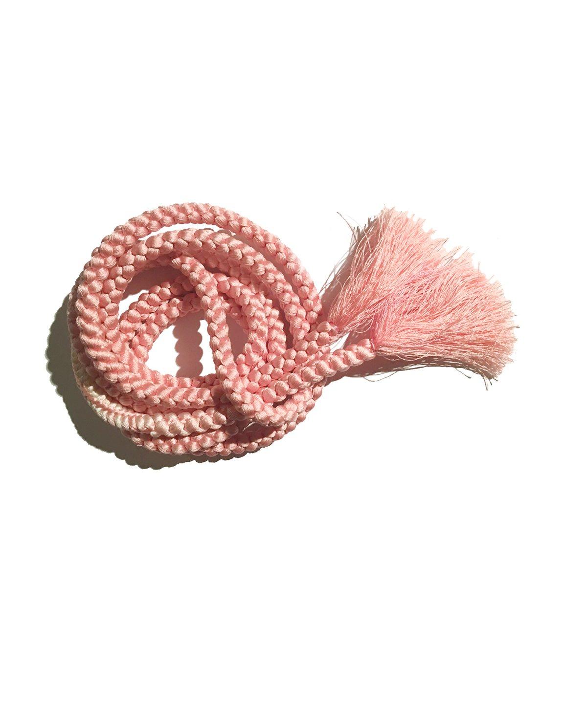 Image of Rosa bælte af silke