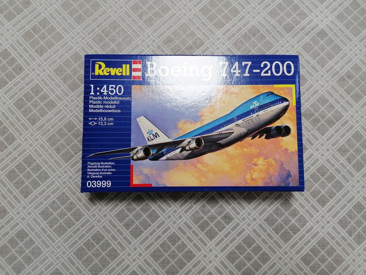 Image of REVELL 1/450 BOEING 747-200 03999