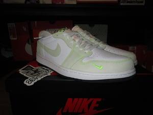 """Image of Air Jordan I (1) Retro Low OG """"Ghost Green"""""""