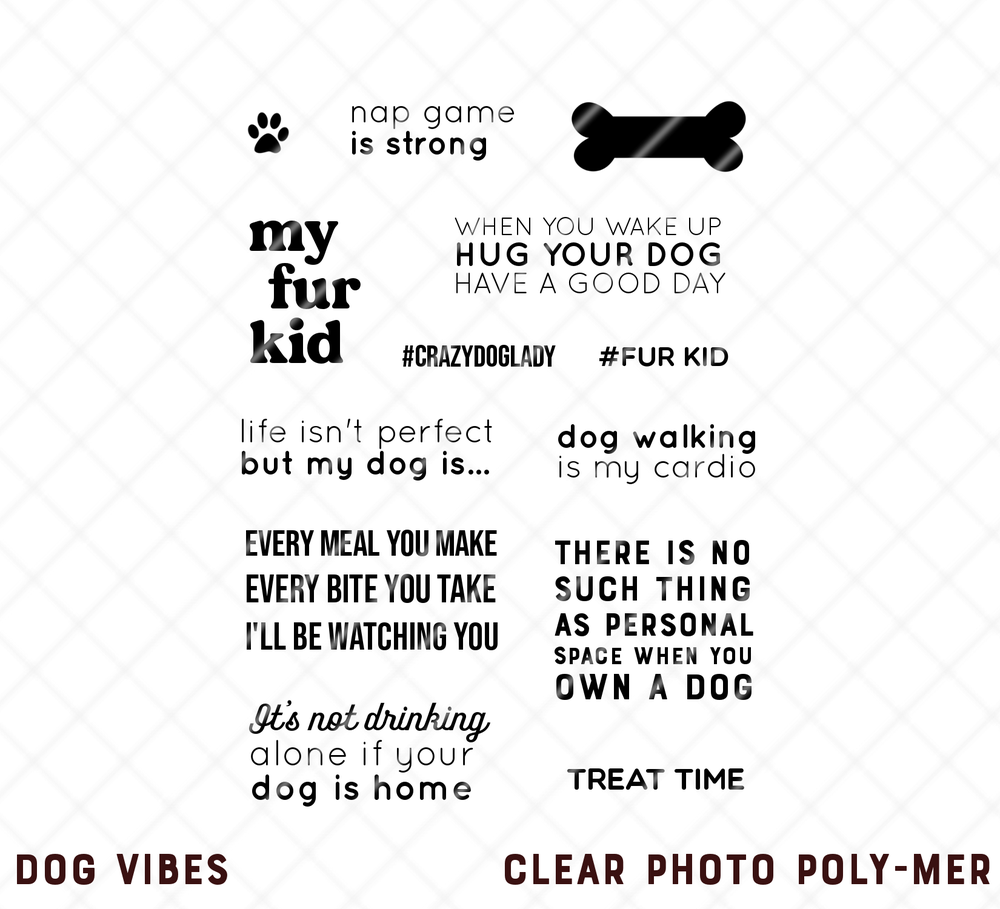 Image of CLEAR | DOG VIBES