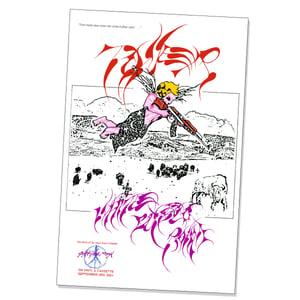 "Image of TONER ""White Buffalo Roam"" LP (Smokey Neon Pink Vinyl)  ** PRE-ORDER **"