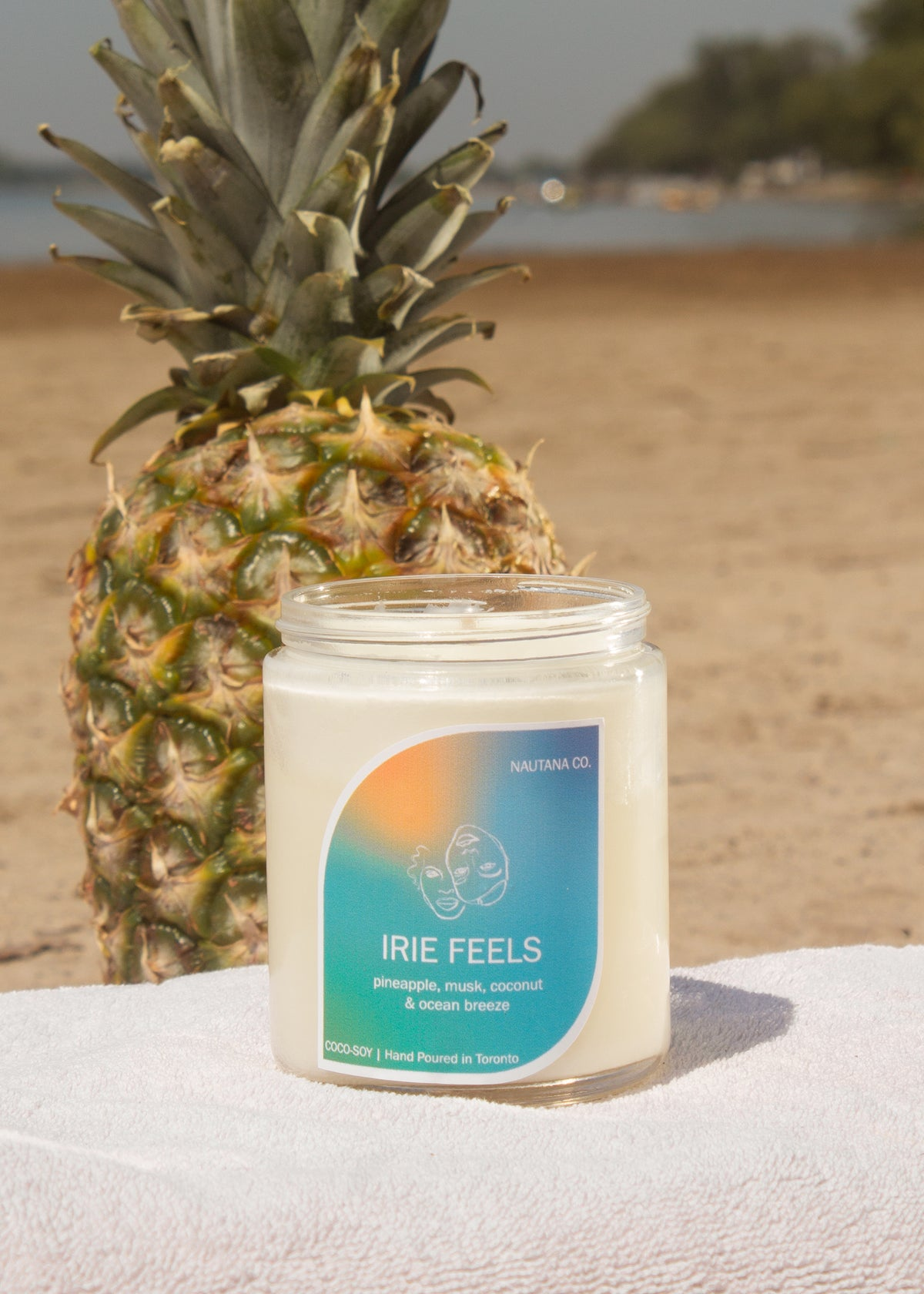 Image of Irie Feels - Pineapple, Coconut & Musk Candle