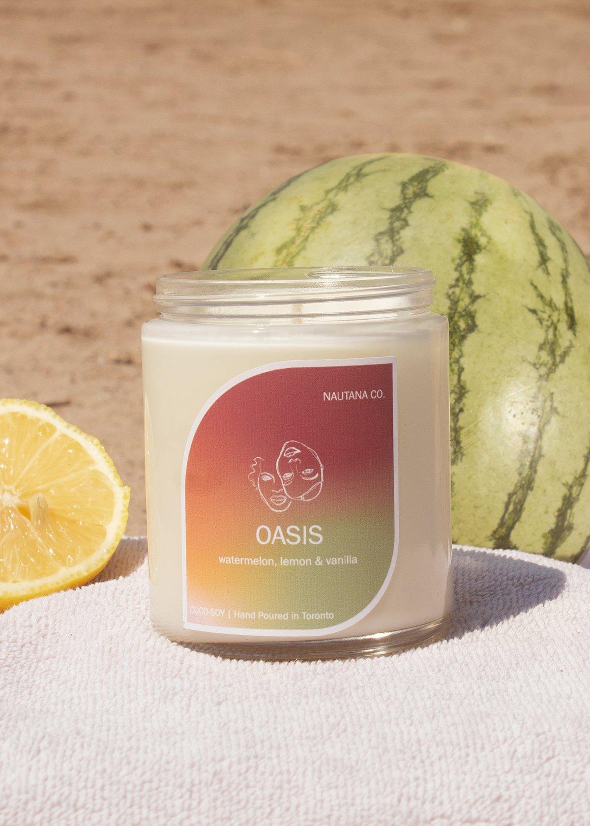 Image of Oasis - Watermelon Lemonade Candle