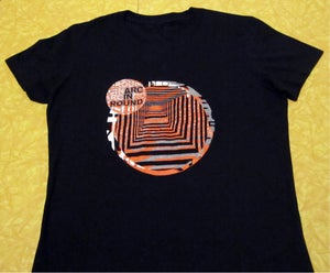Image of Arc In Round - Op Art Shirt