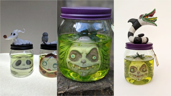 Image of Jack in a Jar & Picklejuice (reserved listing)