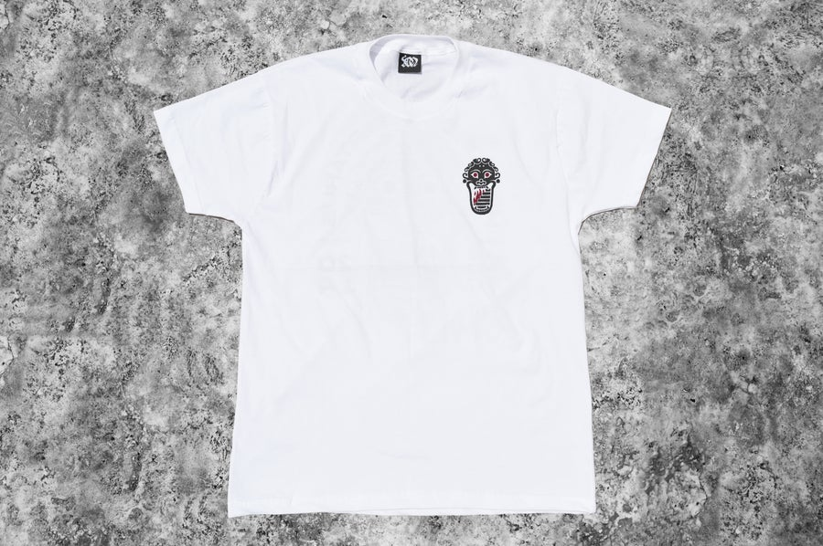 """Image of """"Welcome to Tartarus"""" White T-shirt"""