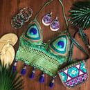 Image 1 of  Peacock Dream -Crochet Halter