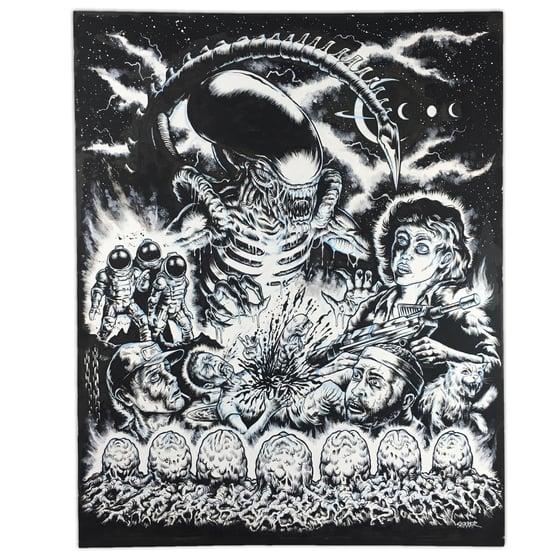 Image of ALIEN - ORIGINAL ARTBOARD