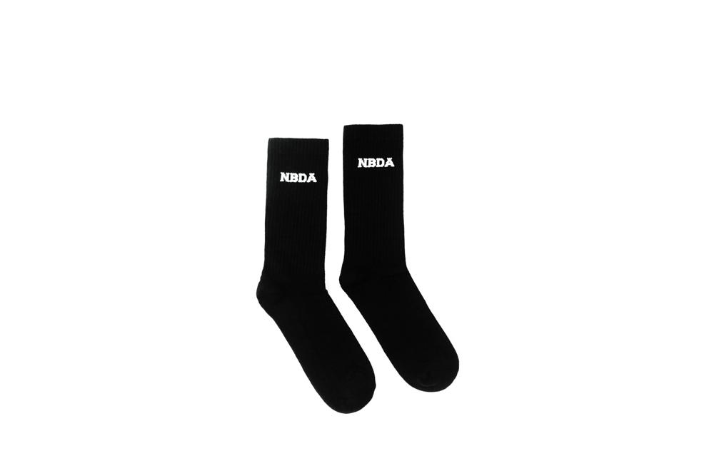 Image of Logo Sock - Carbon Black