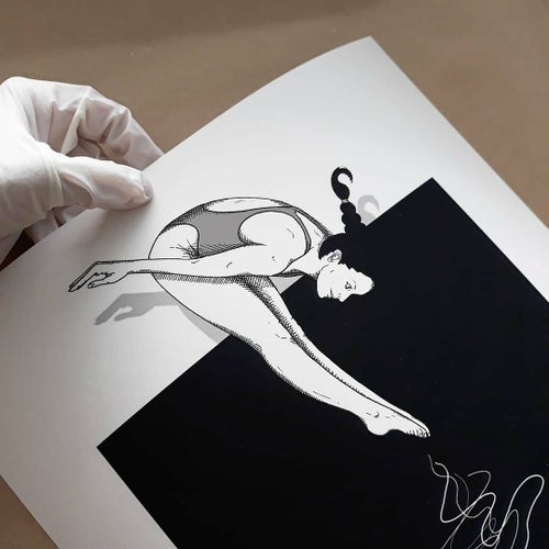 "Image of Fine Art Print ""MORNING"" (30x40 cm)"