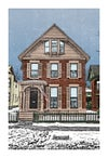 Susan B. Anthony House Print