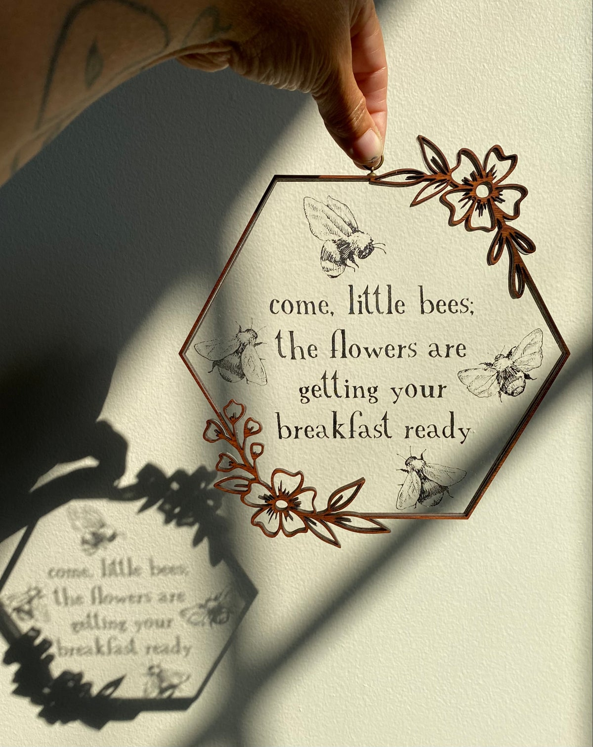 Image of Come, Little Bees Wall/Window Hanging
