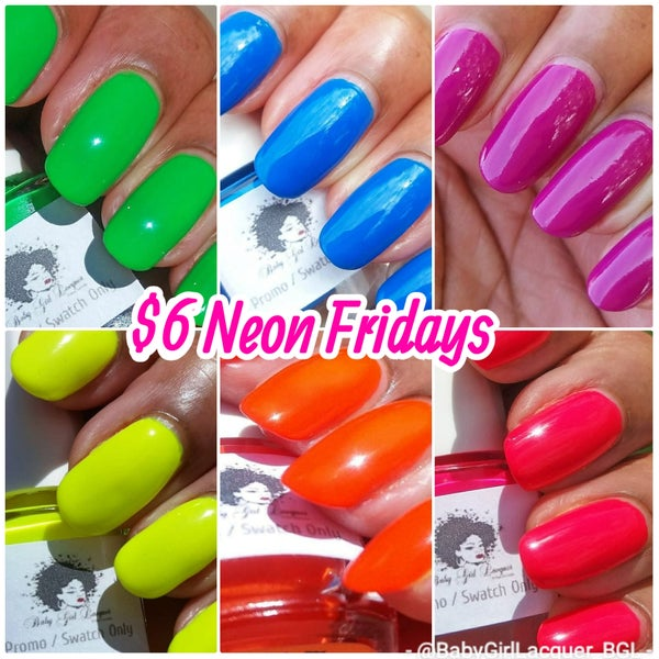 """Image of """"Summer Neons"""" Deal (Fridays Only)!"""
