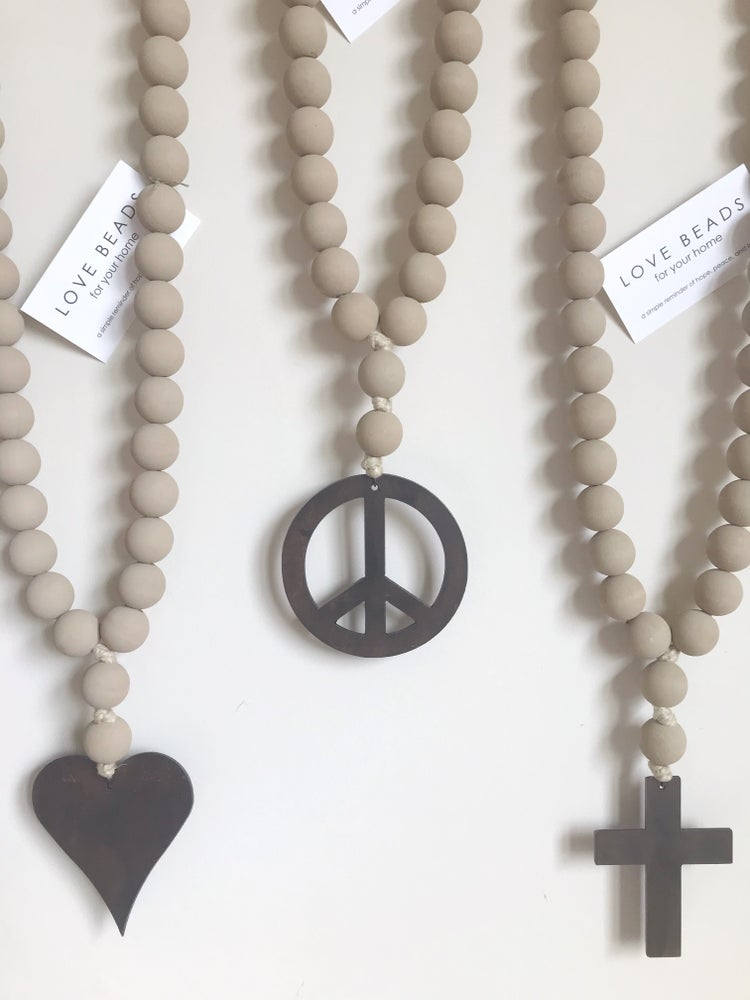 Image of Original Love Beads - Washed Sand