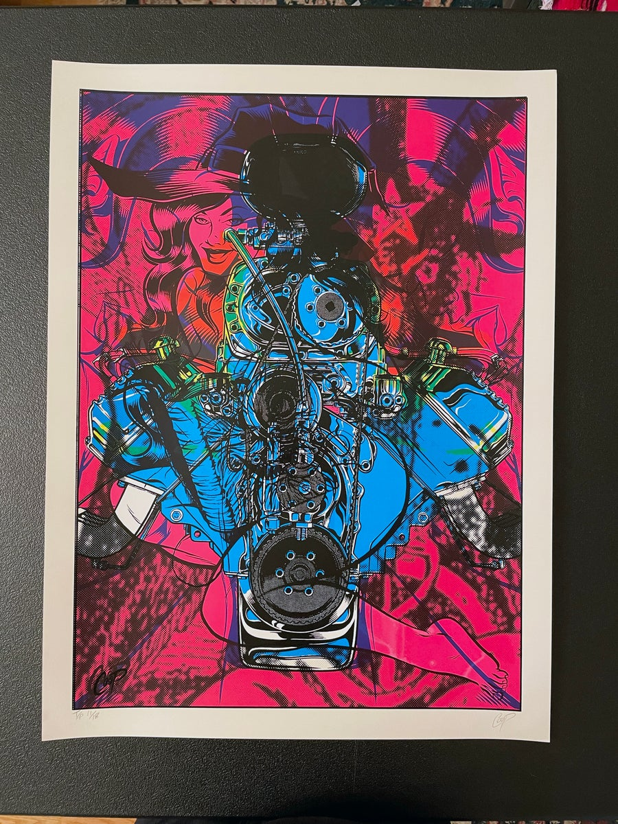 Image of TEST PRINT TUESDAY #3 Hemi Witch