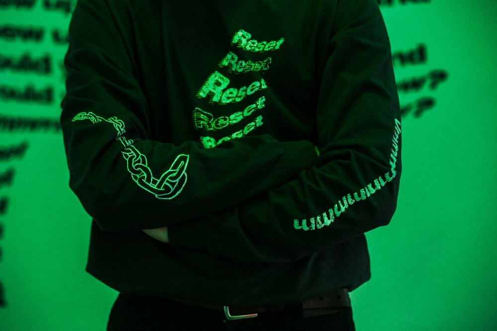 Image of SickNasty x Sidney McMahon: Of sorrow and release long sleeve top