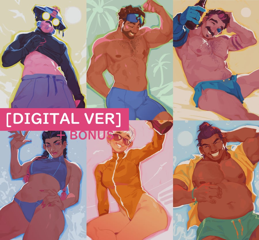Image of [DIGITAL] APEX // Summer Celebration Legends 5x7 Prints
