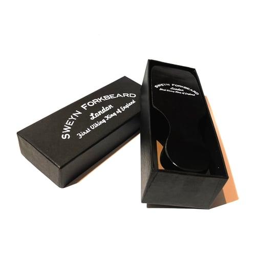 Image of Beard and Hair Black Brush in Gift Box