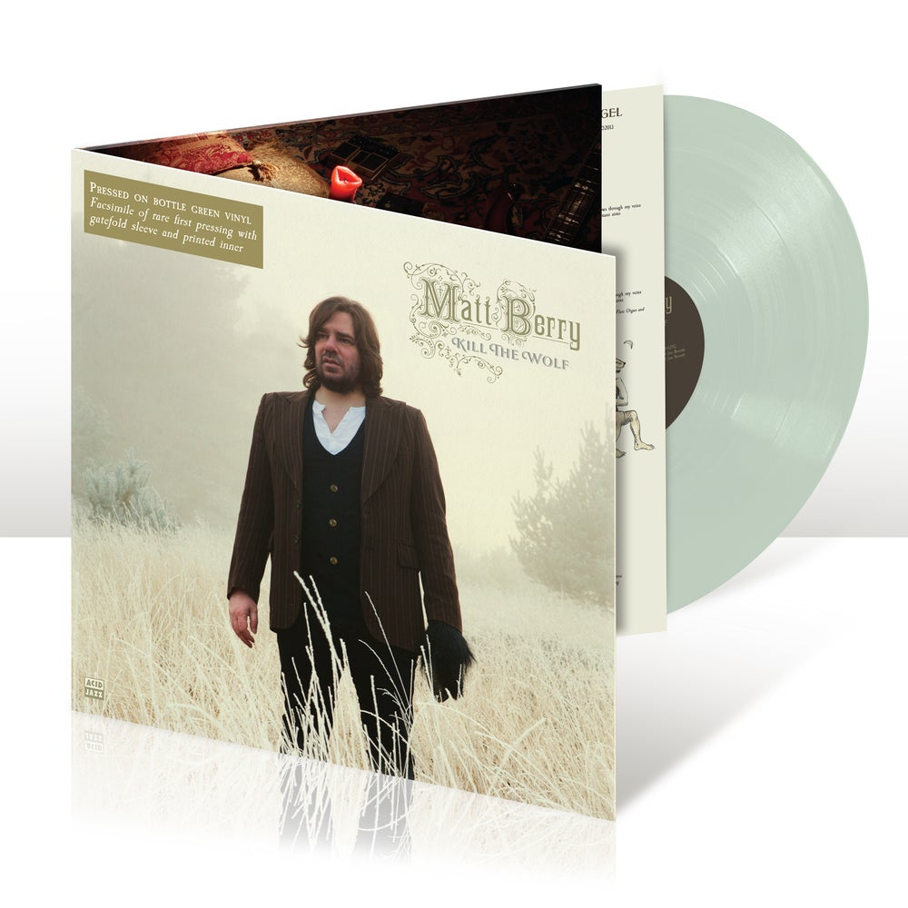 Image of Matt Berry - Kill The Wolf (Bottle Green Gatefold Vinyl Reissue) - Pre-Order