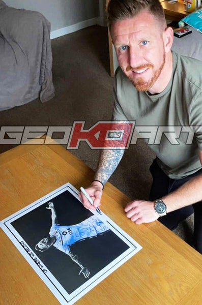 Image of MICHAEL GARDYNE ROSS COUNTY (SIGNED PRINTS)