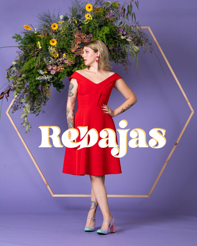 Image of REBAJAS-SALES -30% Vestido Georgia O'Keeffe