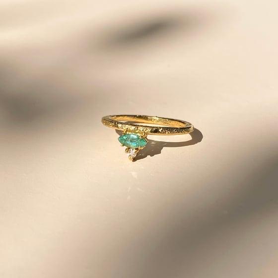 Image of Nayeli Ring  / 24K GOLD-COATED SILVER