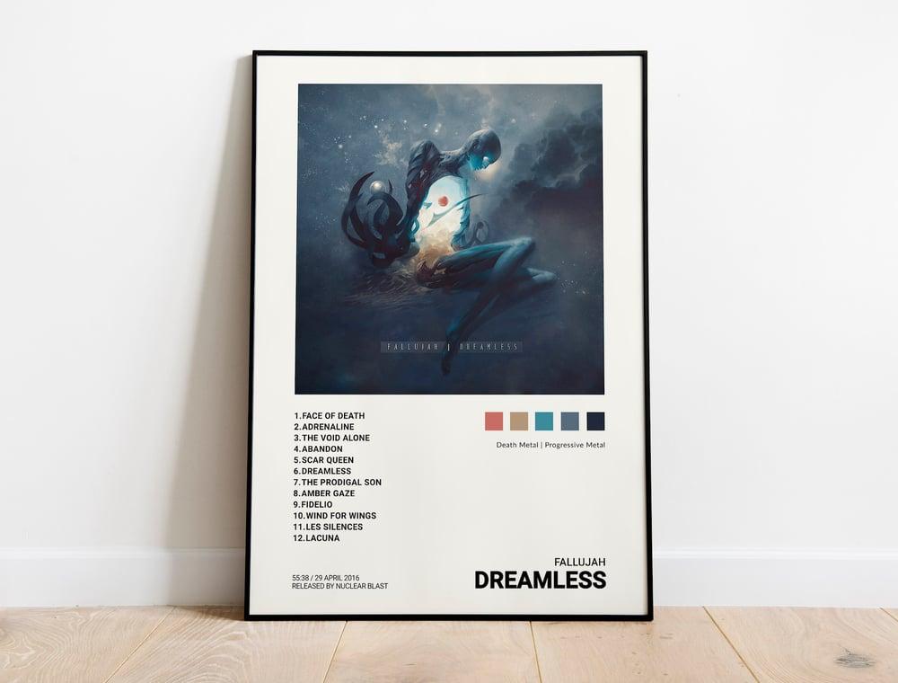 Fallujah - Dreamless Album Cover Poster
