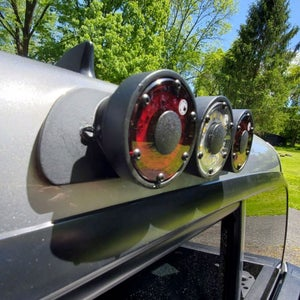 Image of Aluminum Third Brake Light Toyota Tacoma 3RD GEN Access Cab ONLY (2016-2021) or ALL 2ND GEN Tacomas