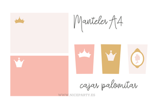 Image of Pack imprimible princesas