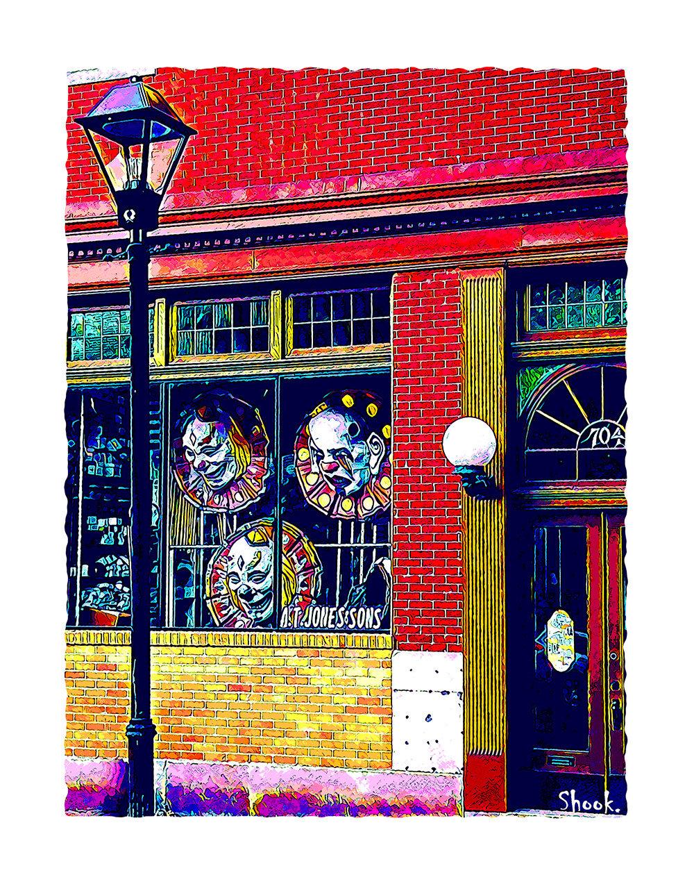 A.T. Jones & Sons, Baltimore MD Giclée Art Print (Multi-size options)