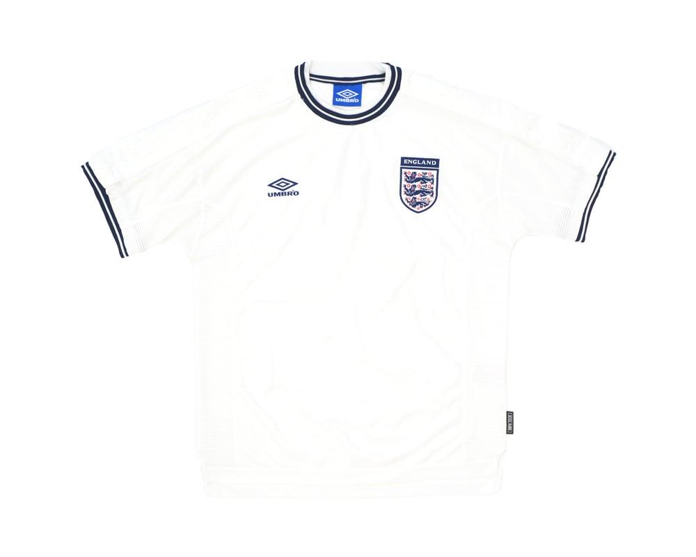 Image of 1999-01 Umbro England Home Shirt XL