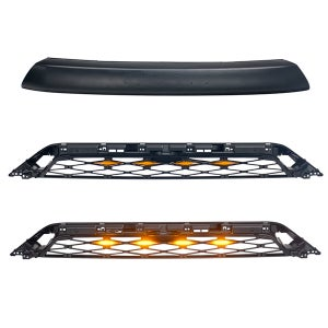 Image of Faux TRD Pro Style Grille with Raptor Lights for 2020-2021 Toyota 4Runner