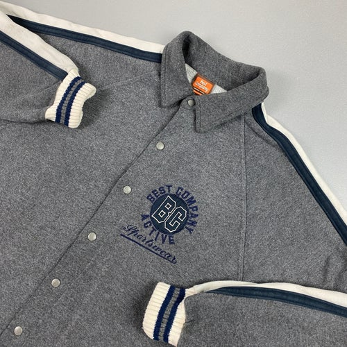 Image of 1990s Best Company button up jacket, size XL