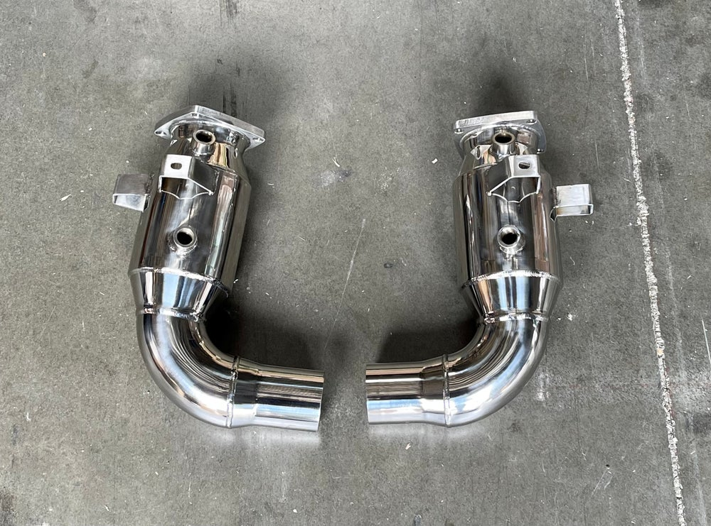 Porsche 991.2 Carrera Base (without PSE) Sport Catalytic Converters - 2017 - 2019